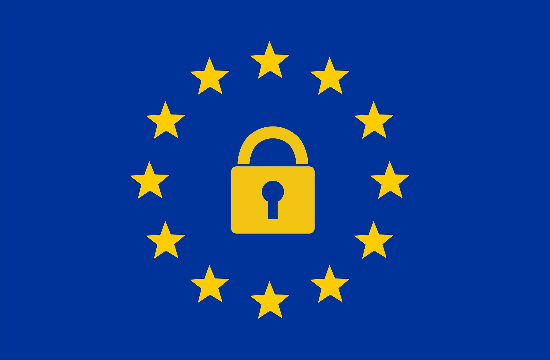 Vlag AVG/GDPR Europa
